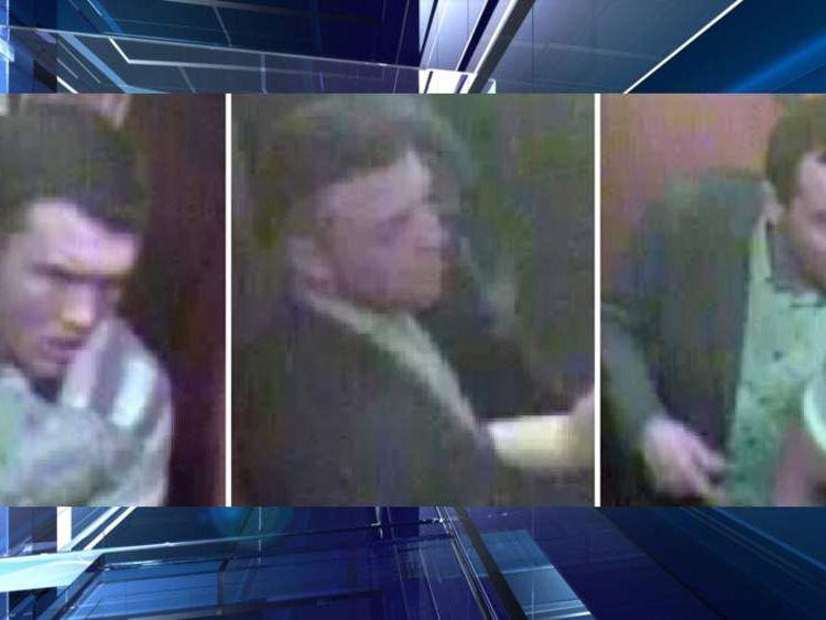 Three men sought over Sean Gleeson attack