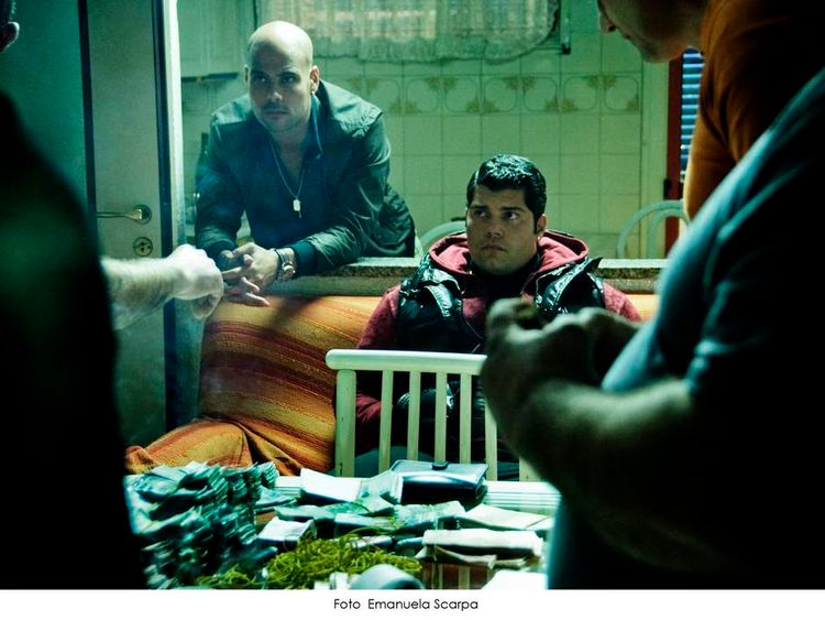 A scene from Sky Italia's mafia series Gomorrah