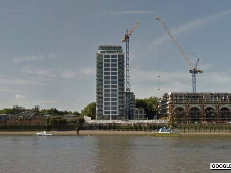 Google Street View images of Knights Tower in Deptford