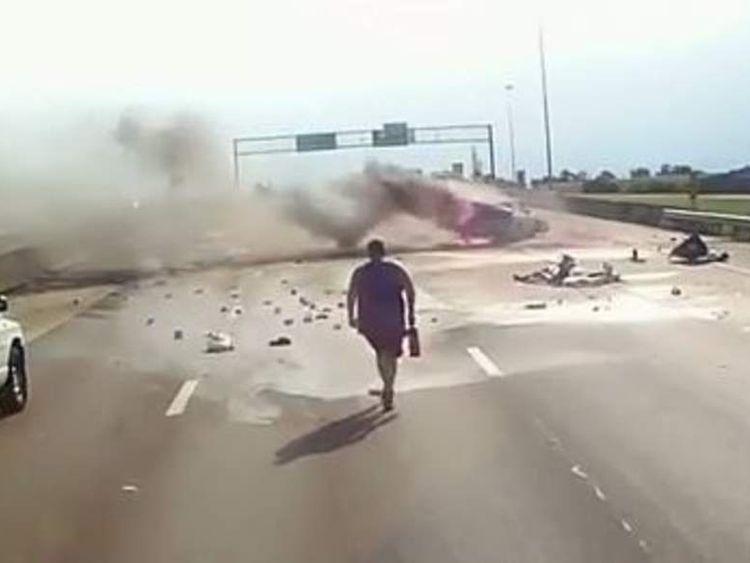 Crash in US