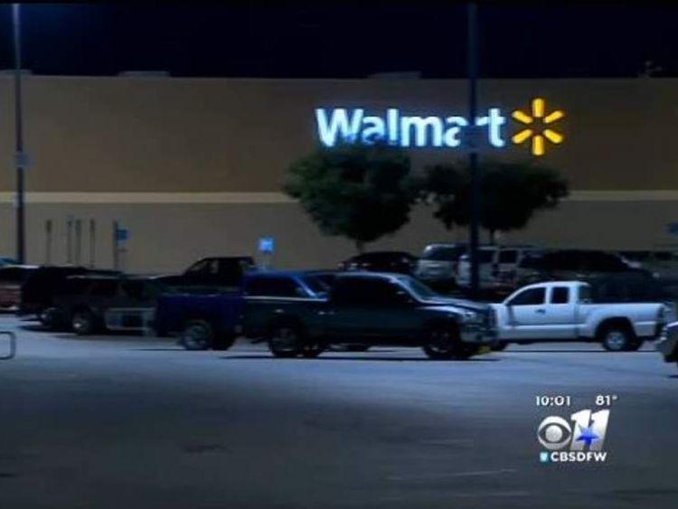 Boy caught living in Walmart
