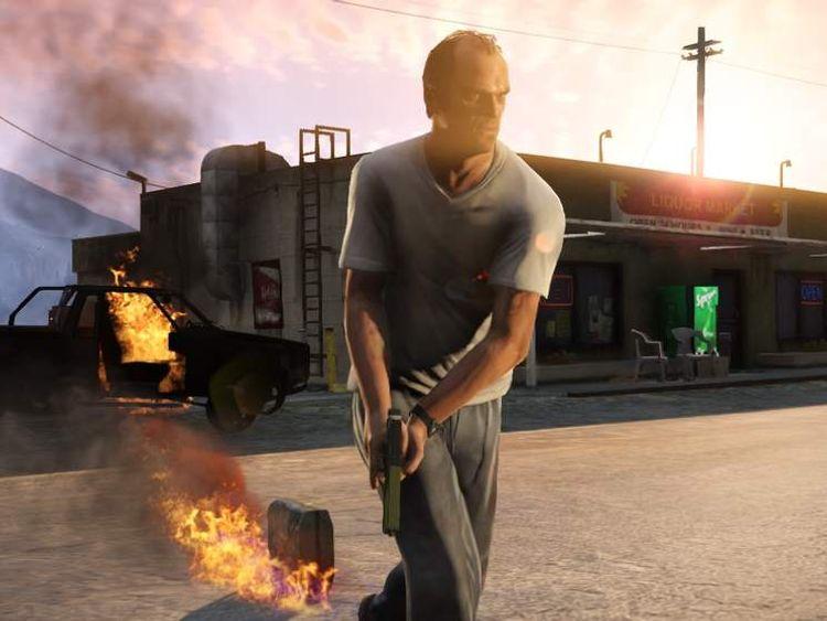GTA V (Rocktar Games)