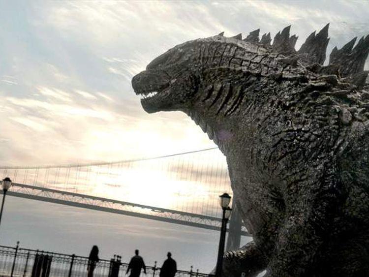 Godzilla. Photo courtesy of Warner Bros