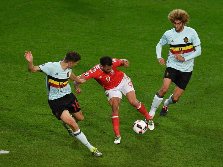 Hal Robson-Kanu's goal against Belgium was among the highlights of Euro 2016