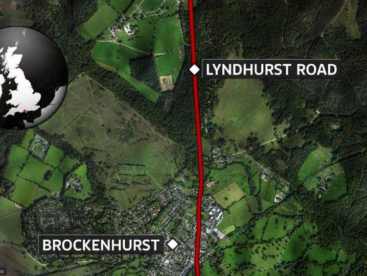 Body of woman found in field near Brockenhurst
