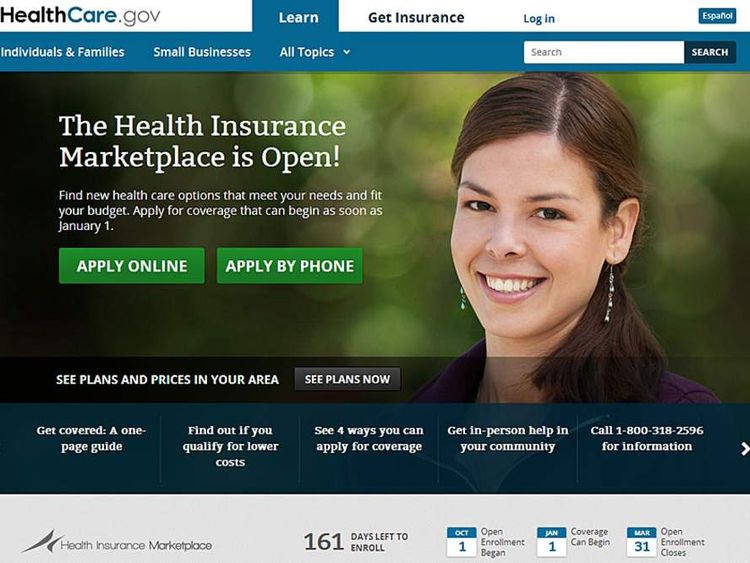 Health care US website