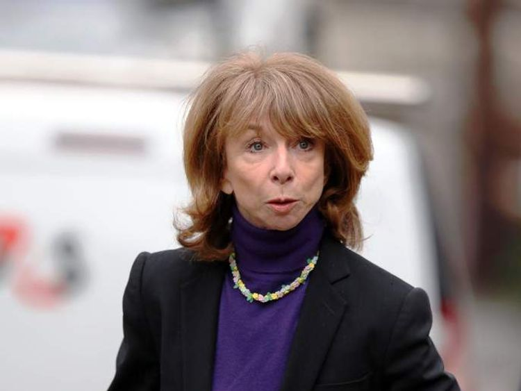 Coronation Street actor Helen Worth arrives at Preston Crown Court
