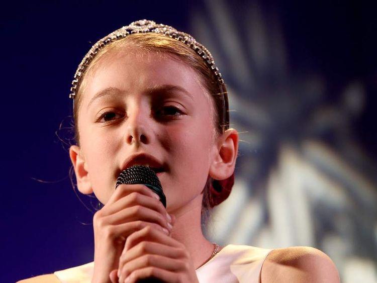 Former Britain's Got Talent contestant Hollie Steel