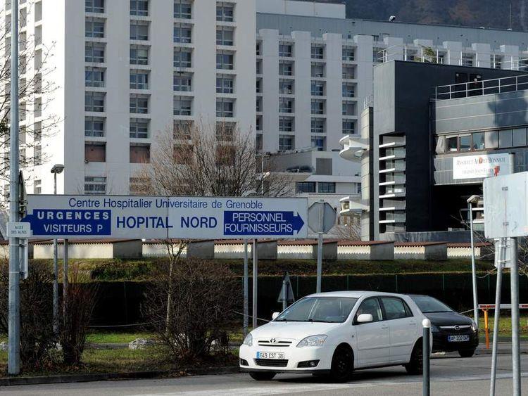 Centre Hospitalier Universitaire hospital in Grenoble