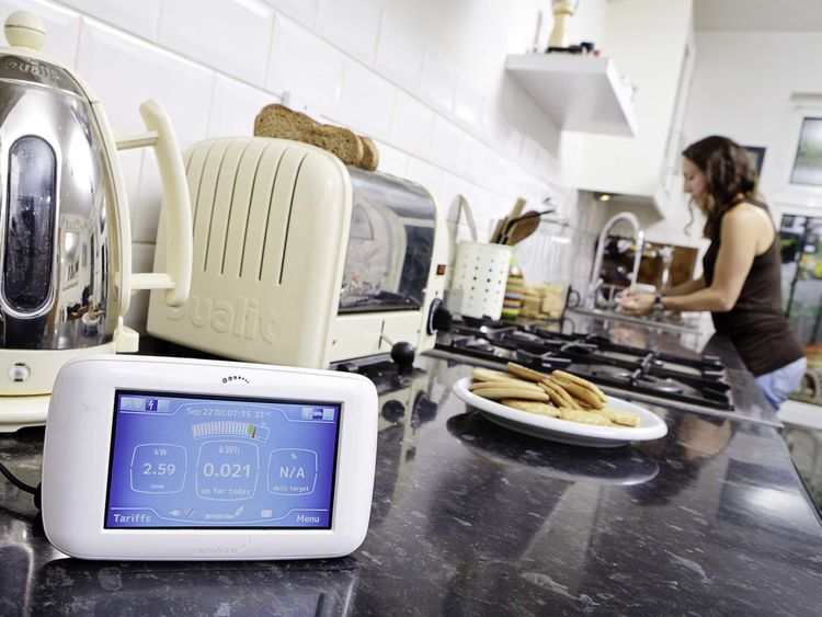 British Gas smart meter nown as 'the Pebble'