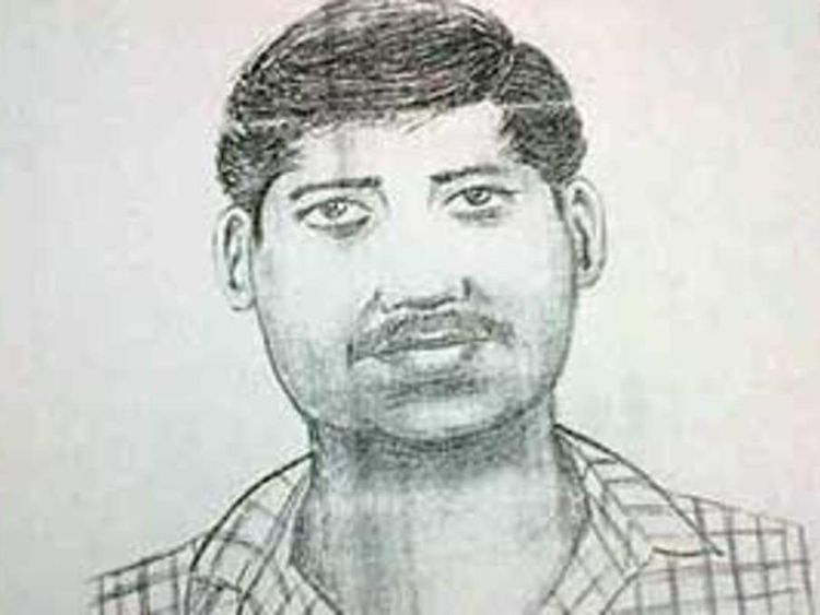 A picture of one of the suspects