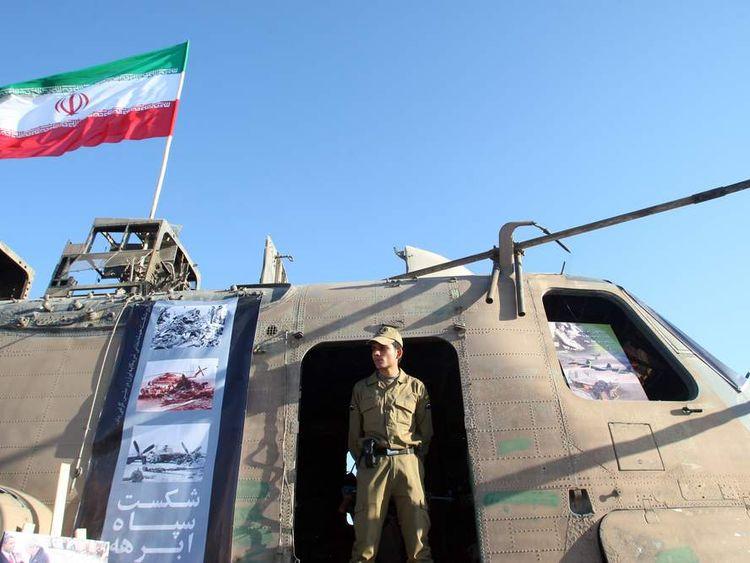 Iran's elite Revolutionary Guard