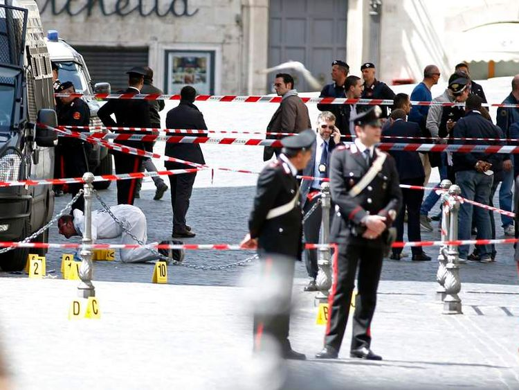 Italy shooting