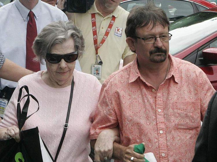 Gloria C. Mackenzie with her son Scott Mackenzie