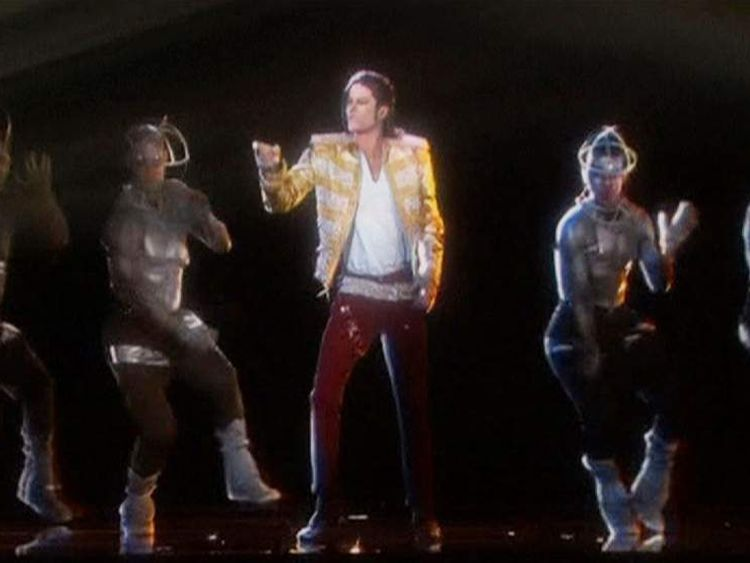 Jackson hologram at Billboard Music Awards PIC Dick Clark Productions/ABC
