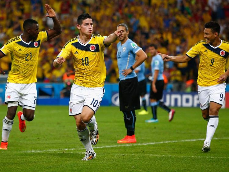 280614 James Rodriguez Colombia