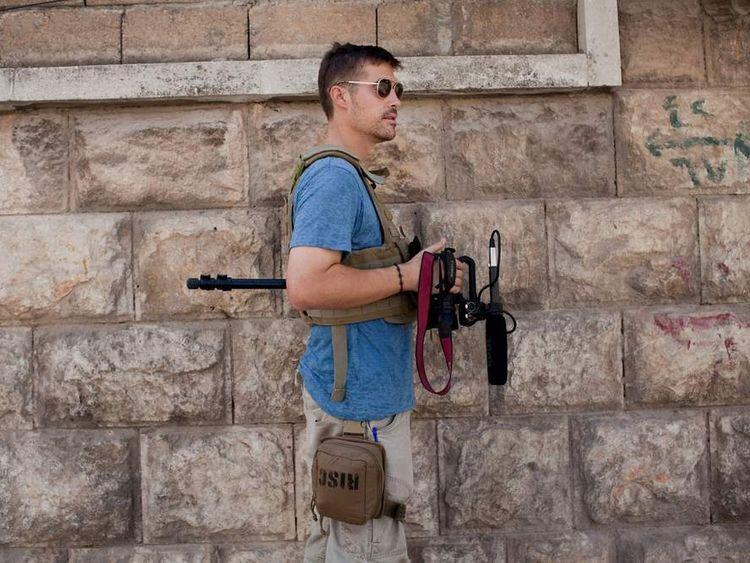 James Foley, Aleppo, Syria - 08/12