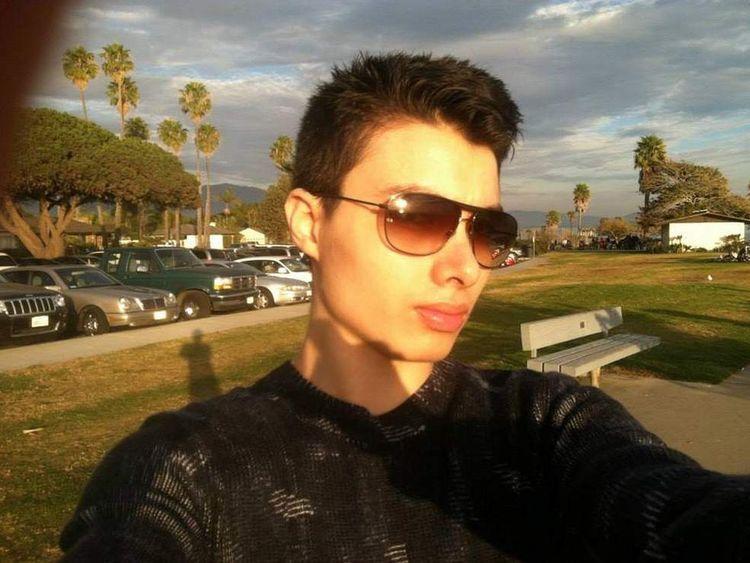 Elliot Rodger selfie