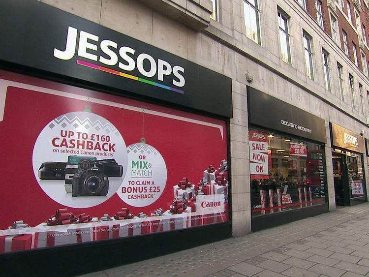 Jessops New Oxford Street January 9, 2013