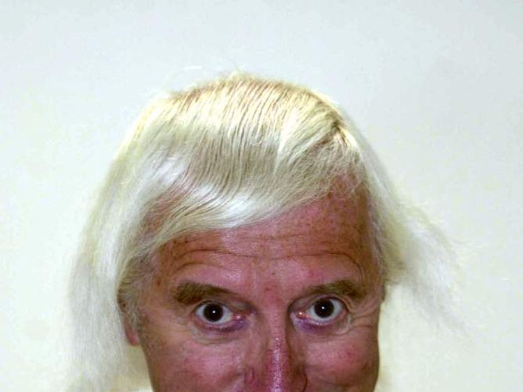 Jimmy Savile, pictured in 2000