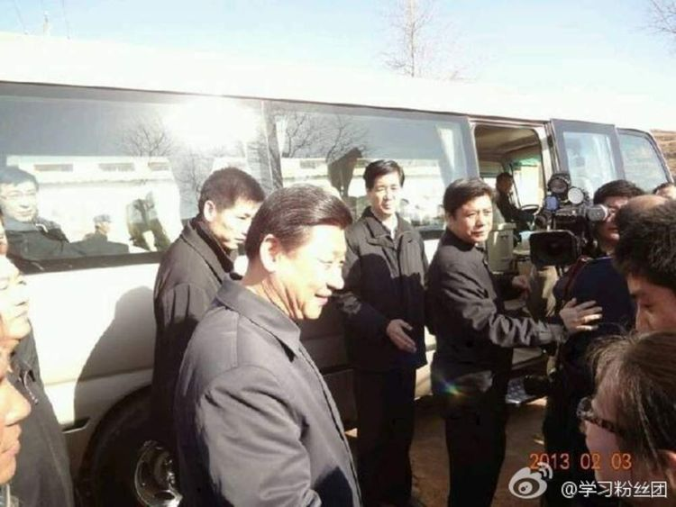 Xi Jinping's travels documented on Sina Weibo