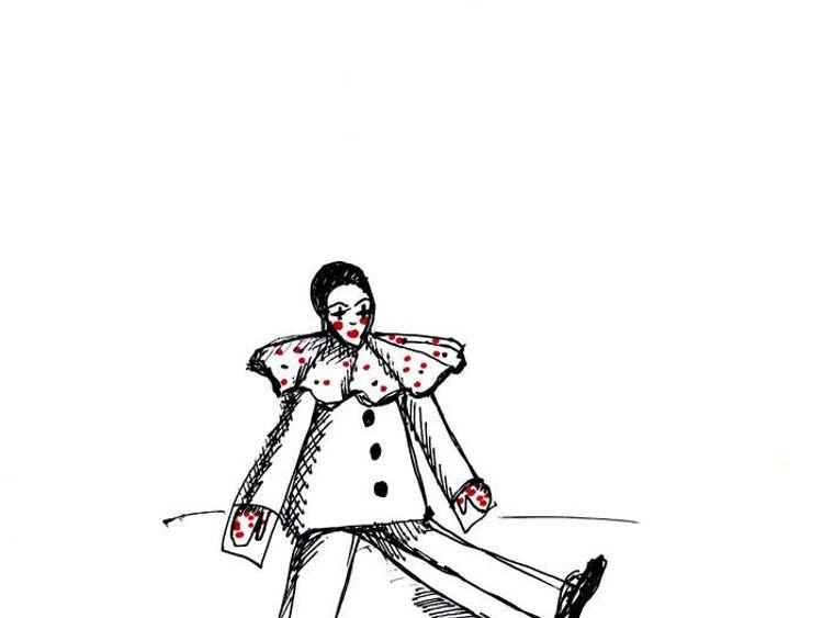 Celebrity doodles for Epilepsy: Joanna Lumley