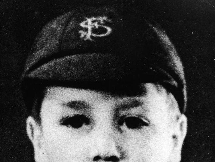 John Lennon As Young Boy