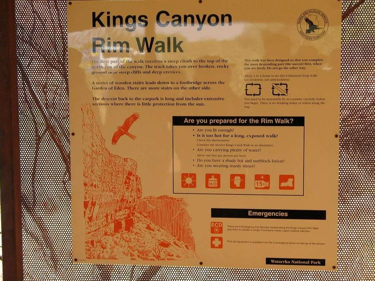 Kings Canyon.
