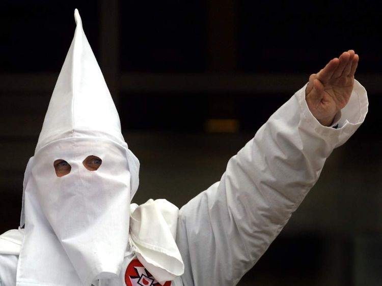 KKK rally in Illinois