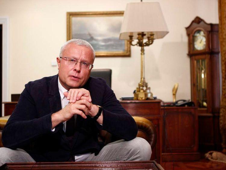 Russian tycoon Alexander Lebedev