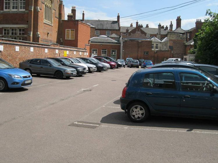 Leicester City Council car park where dig for Richard III will take place