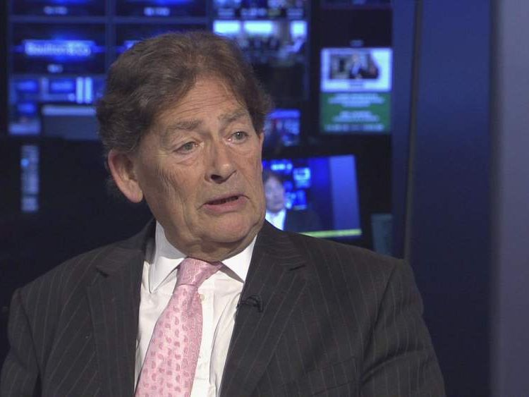 Former chancellor, Lord Lawson