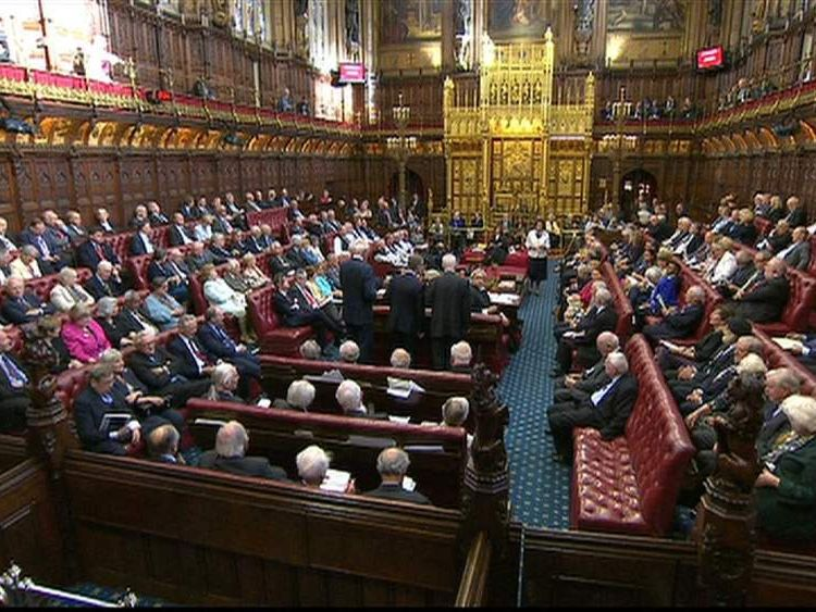 House of Lords chamber