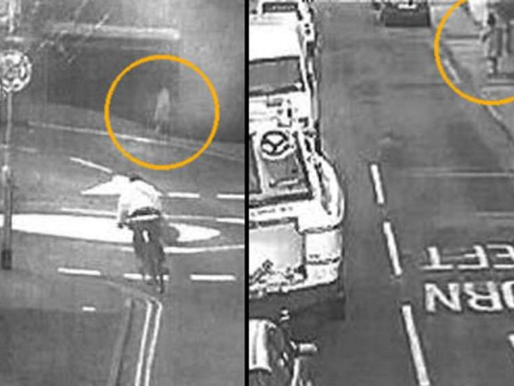 CCTV footage shows Fiona Anderson
