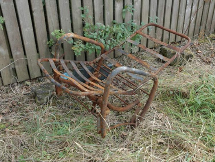 The chair used in the Lynda Spence murder