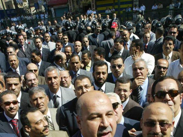 Pro-reform Egyptian judge Mahmud Mekki (