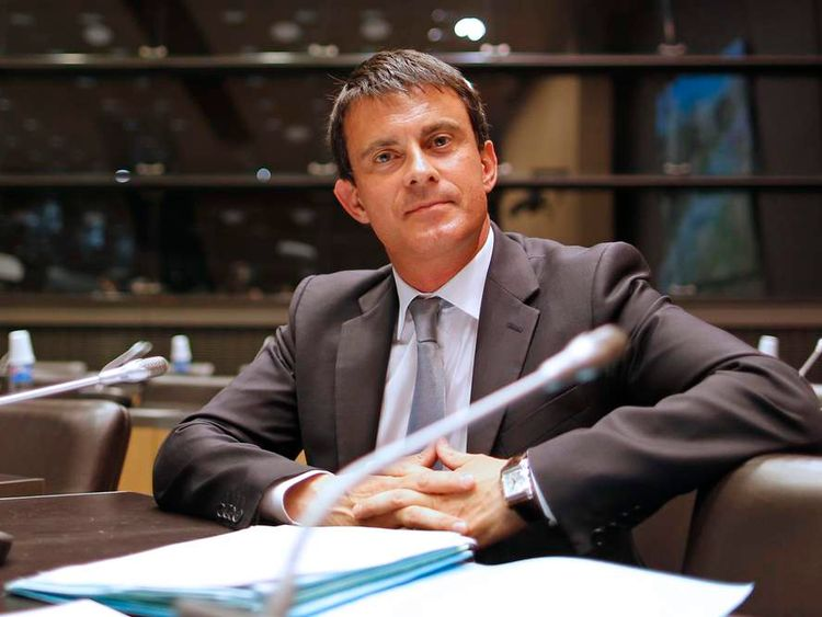 Manuel Valls has become France's new prime minister