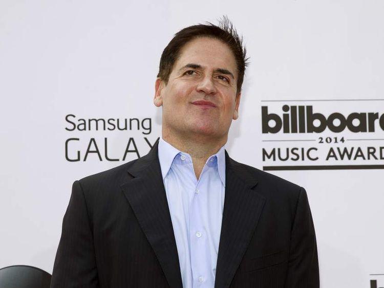 Businessman Mark Cuban arrives at the 2014 Billboard Music Awards in Las Vegas