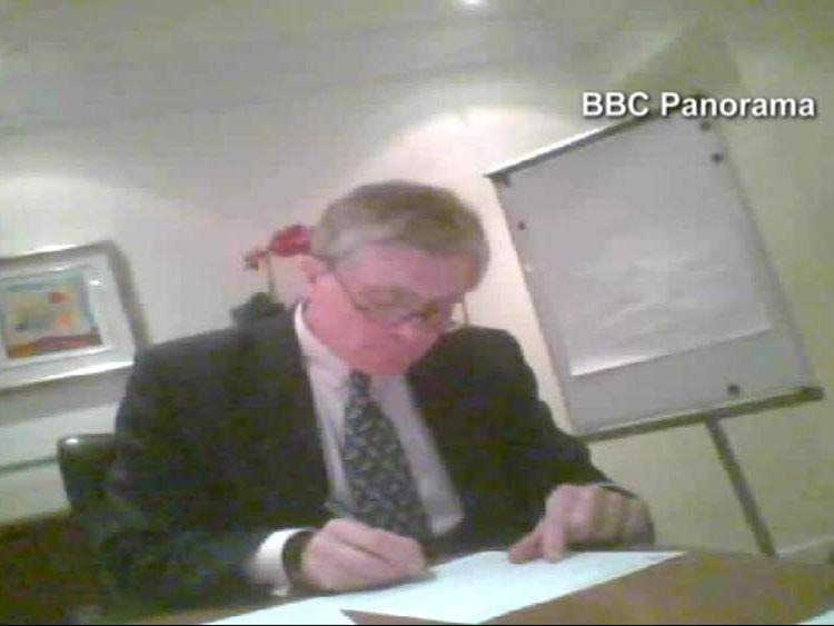 Patrick Mercer on Panorama