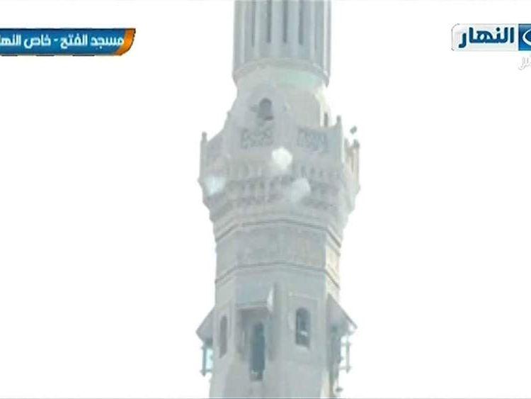 Gunfire from al Fateh mosque
