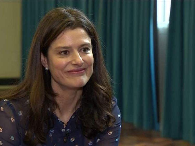 Nick Clegg's wife Miriam Gonzales Durantez