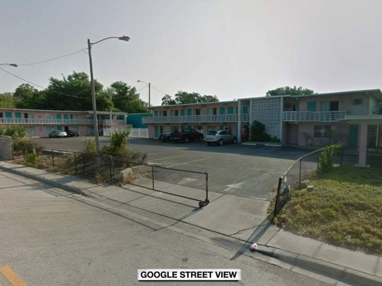 Budget inn motel in Florida