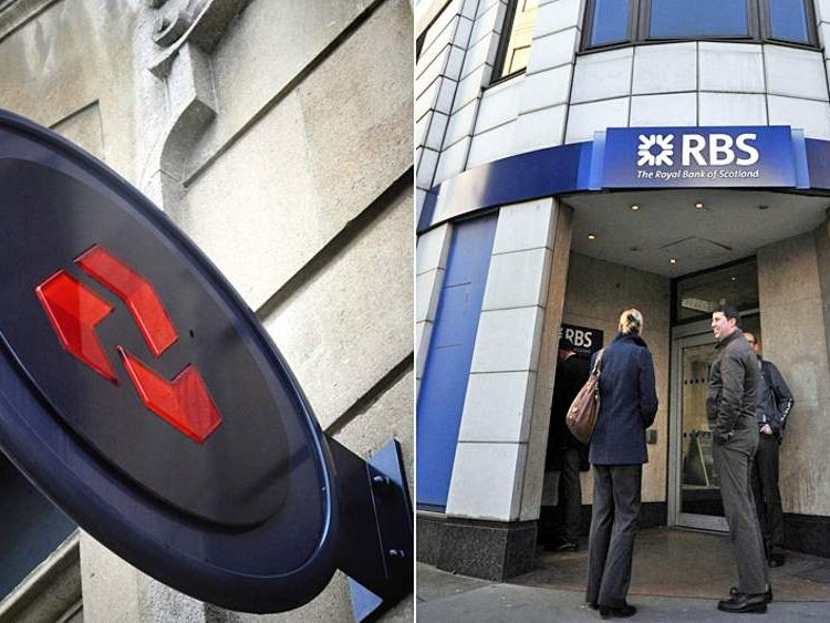 RBS branches to close
