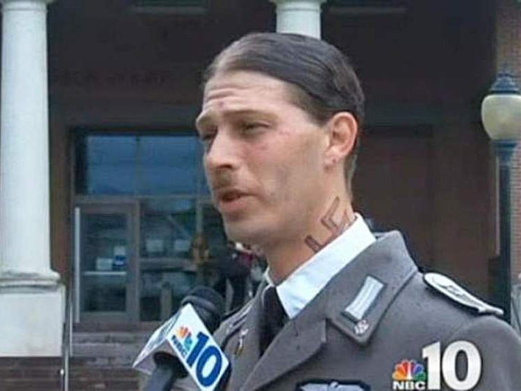 Heath Campbell - Nazi uniform wearing father tells NJ custody court he's a good father