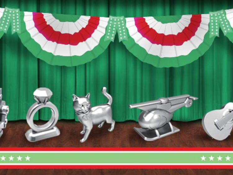 New Monopoly pieces line-up