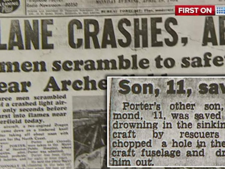 A pilot who survived a crash in his father's plane at 11 years old has been killed after crashing the same plane.