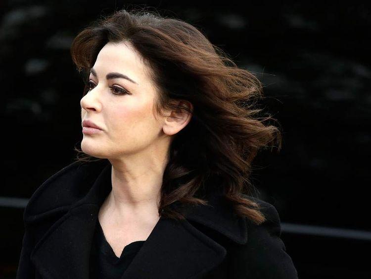 Nigella Lawson arrives at Isleworth Crown Court