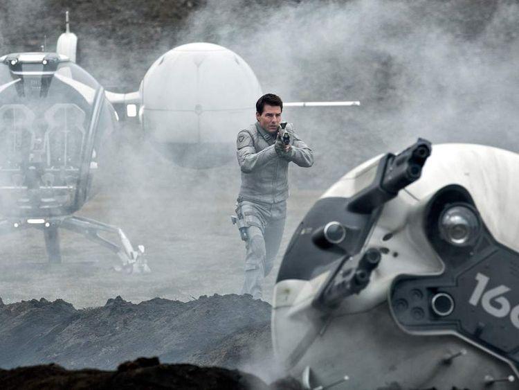 Tom Cruise stars in Oblivion