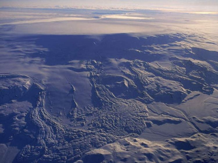 The Bardarbunga volcano in Iceland Pic: Icelandic Met Office
