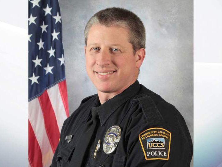 Police officer Garrett Swasey